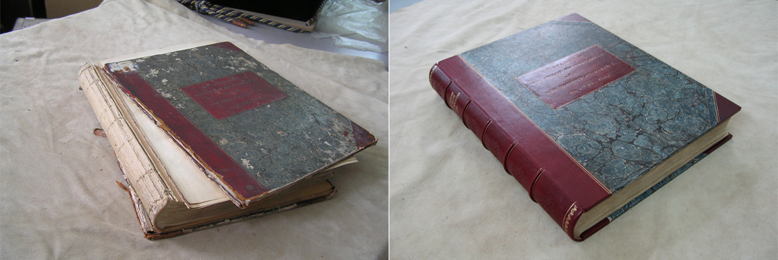 Реставрация книга своими руками